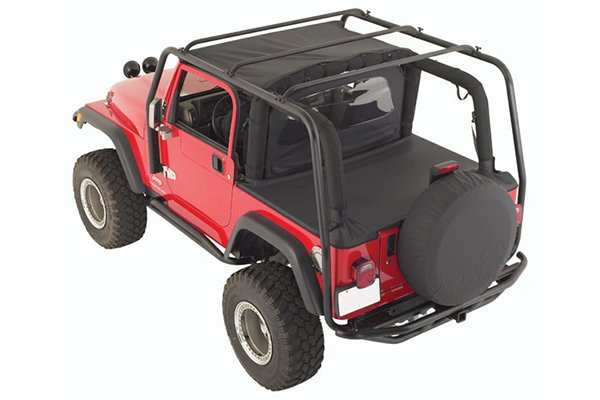 Smitybilt Roof Rack - Best Price & Reviews on Smittybilt SRC Roof Rack for Soft Top Jeep Wrangler JK, TJ, CJ & YJ