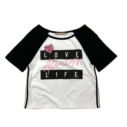 Always Love Life Tee with Christian Patch