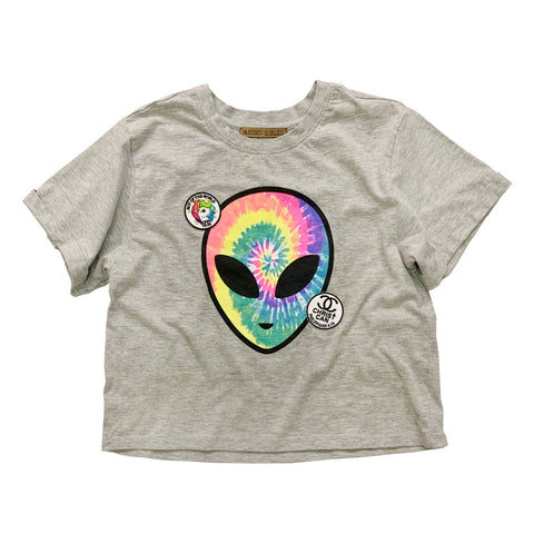 Alien Tee with Christian Patch