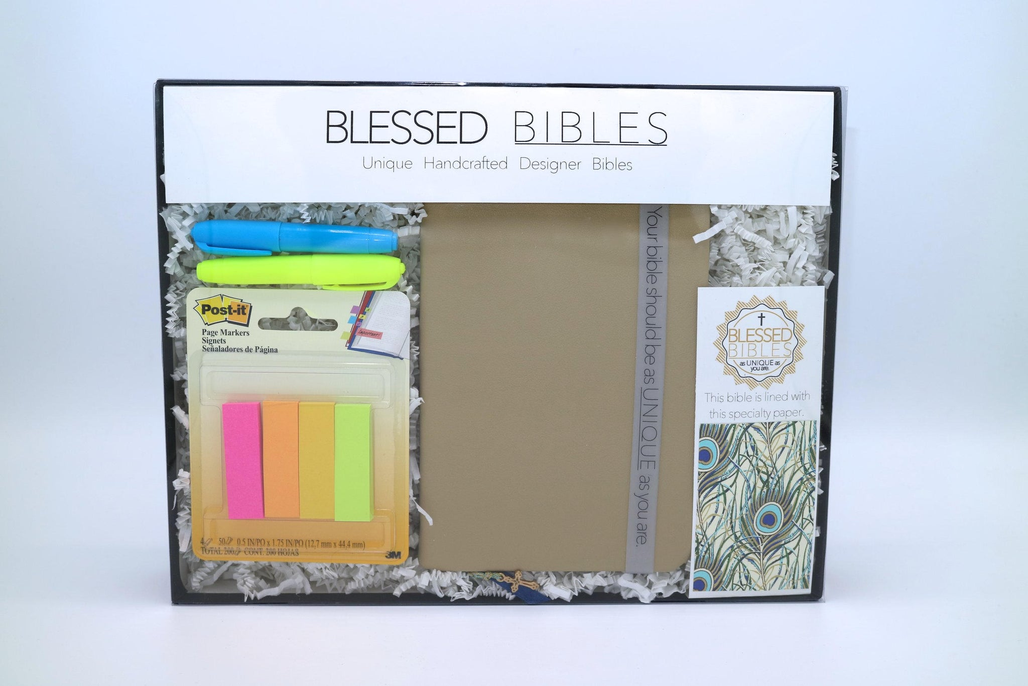 Peacock Plume Bible Kit - NKJV