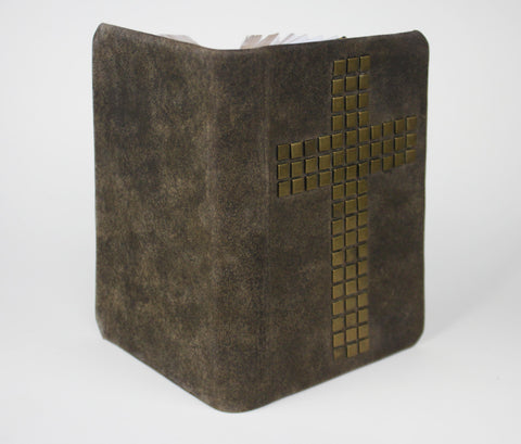 Rustic Cross Handmade Bible - NKJV