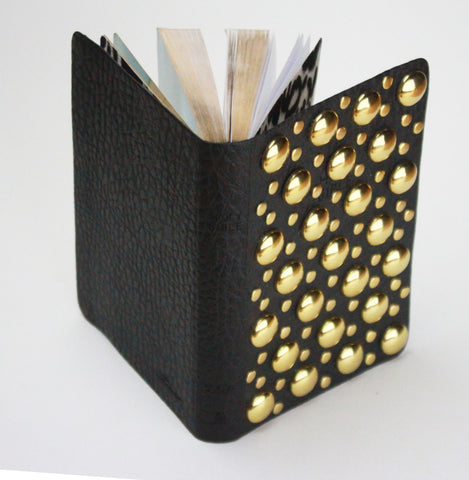 Gold Glam nailhead Custom Bible - NKJV