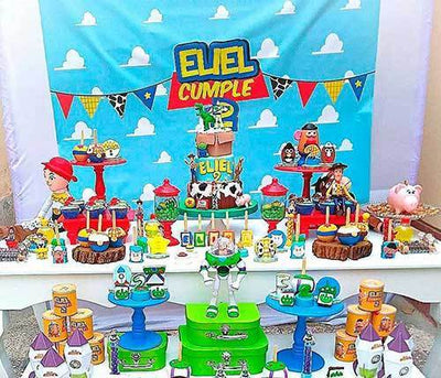 Ideas para fiestas buzz lightyear y woody