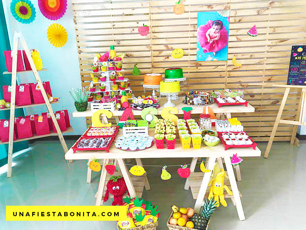 frutas baby shower ideas