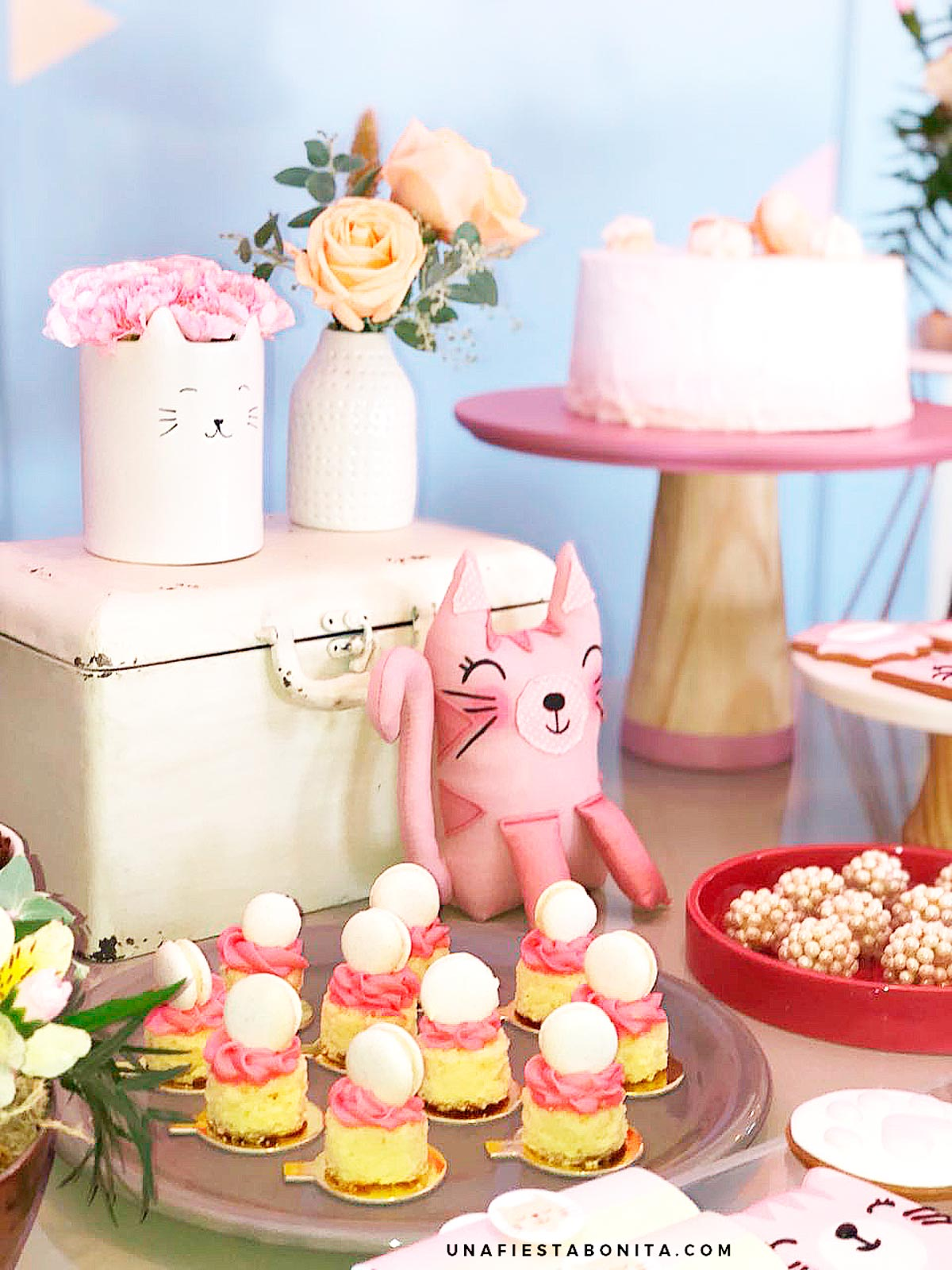 fiestas de gatitos para baby shower