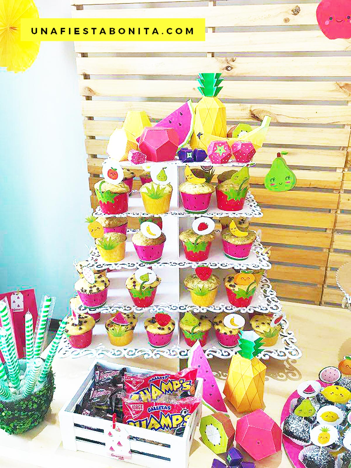 ideas decoracion tutti frutti
