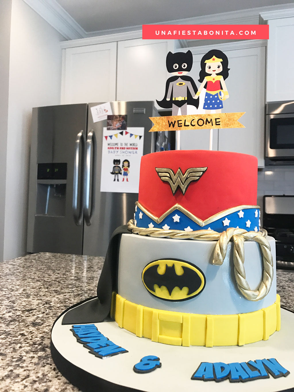 ideas fiesta batman y wonder woman