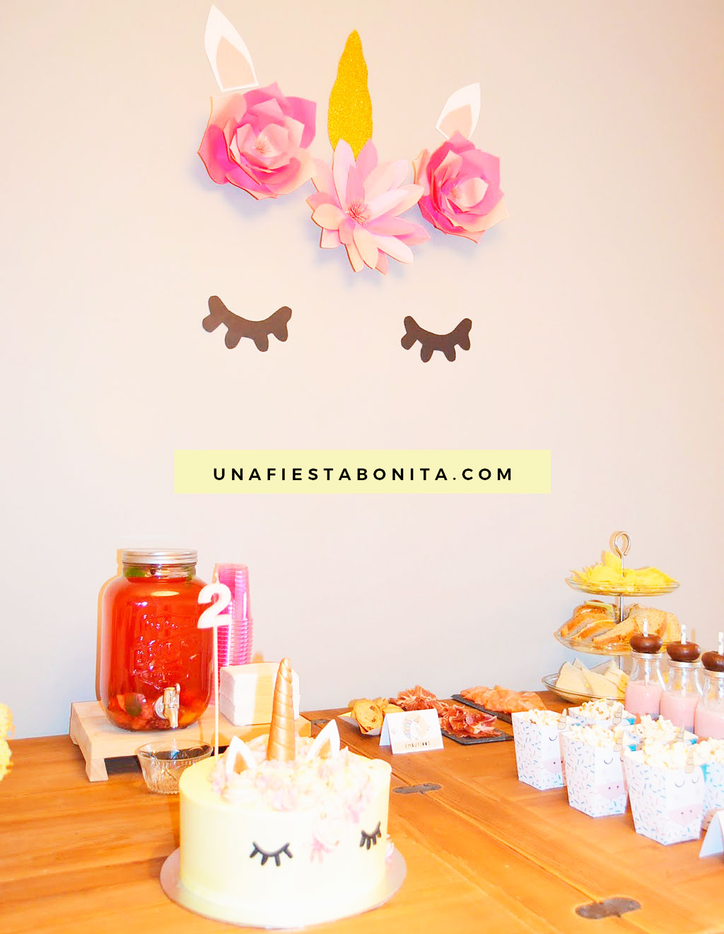ideas para decorar fiesta de unicornio