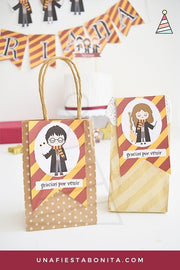 Kit imprimible para fiestas temática Harry Potter