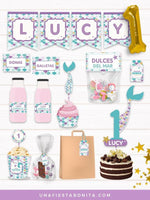 pack imprimible fiesta primer anito baby shower
