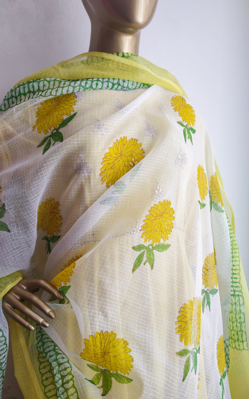 Yellow Gota Patti Anarkali with Sharara