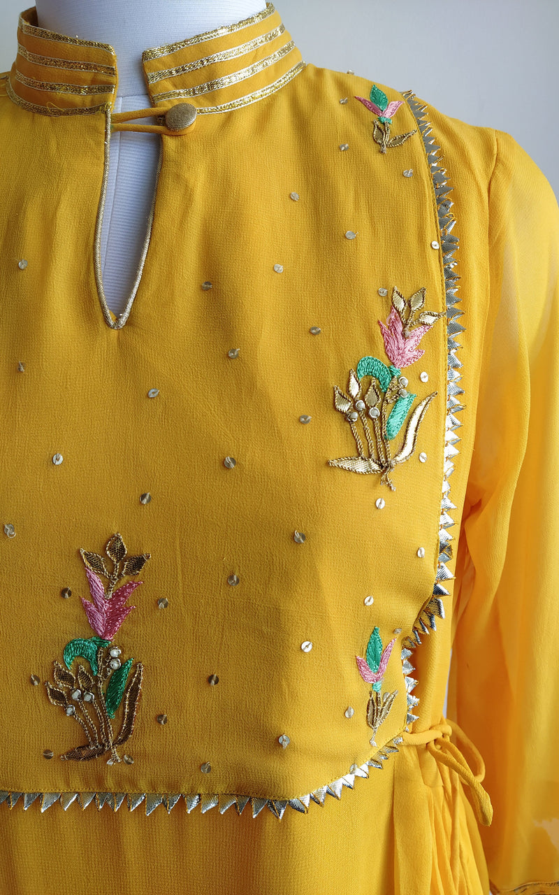 Yellow Handwork Tunic