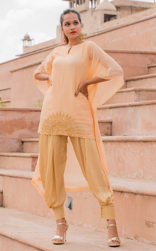 Buy Straight Dhoti Pants Online at LabelKanupriya.