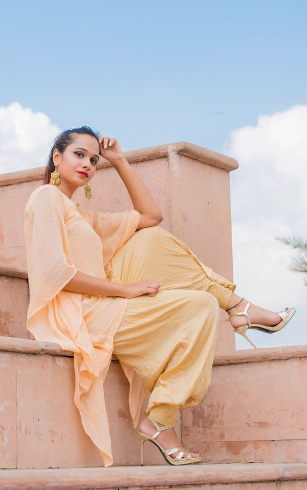 Straight Dhoti Pants - LabelKanupriya