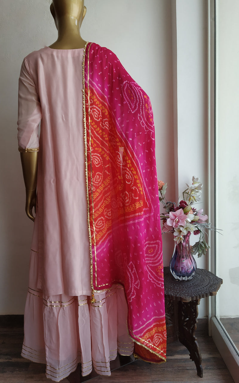 Buy Multiolor Bandhej Dupatta Online at LabelKanupriya.