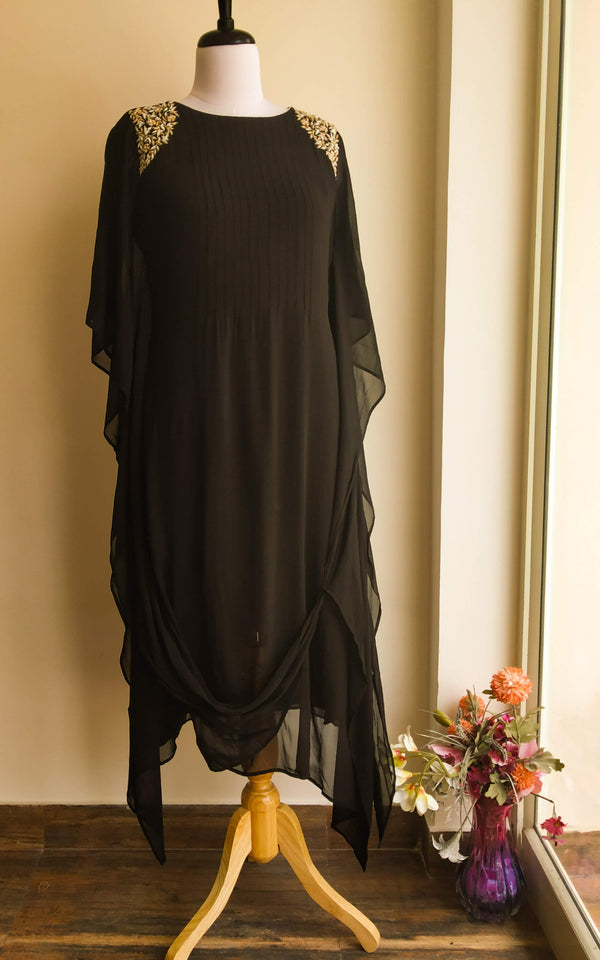 Draped Kaftan Tunic