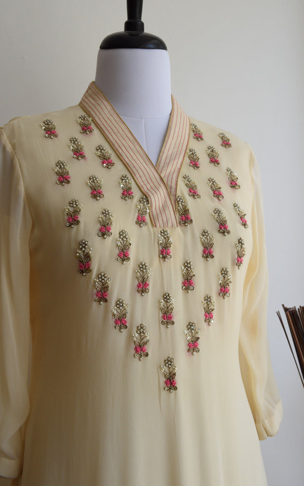 Cream Handwork Tunic