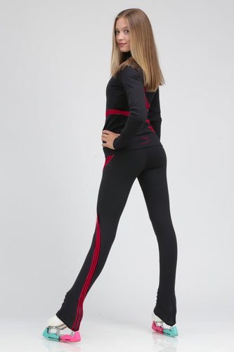 Signature Triple Swirl Pant Red
