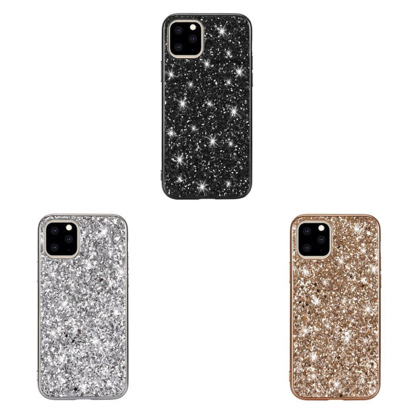 AMZER Shockproof Glitter Powder TPU Protective Case for iPhone 11 Pro
