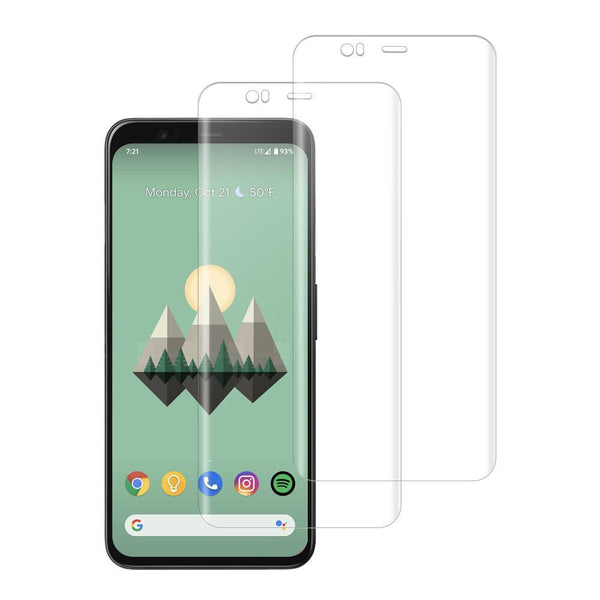 Shatterproof 3D Curve Screen Guard (2 Pack) For Google Pixel 4