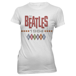 The Beatles 1964 Tour T-Shirt For Women