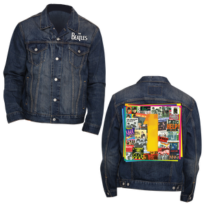 The Beatles 1s Mens Navy Denim Jacket