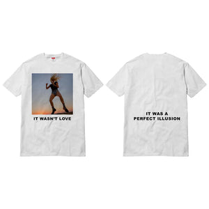 Lady Gaga | It Wasn't Love Unisex White T-Shirt