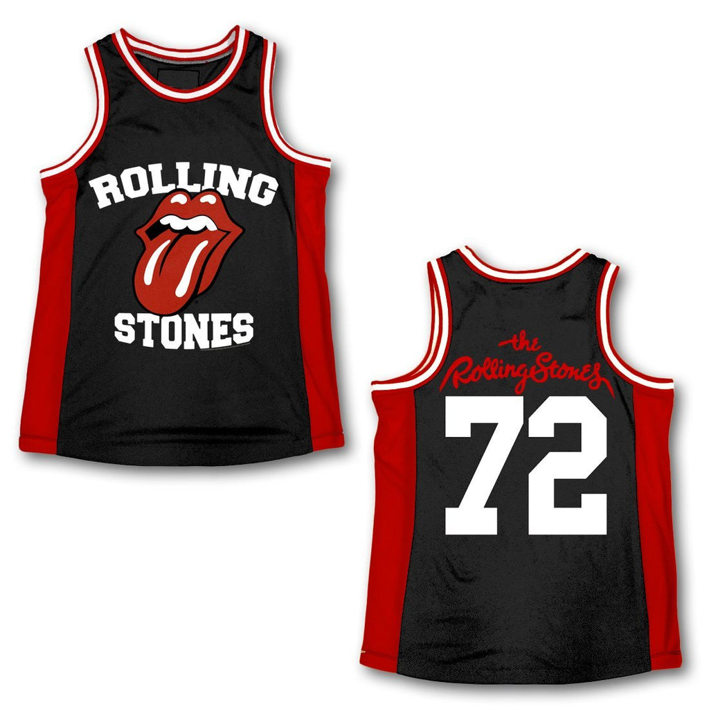 Rolling Stones | Tongue Logo Basketball Jersey
