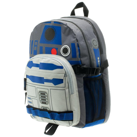 Image of Star Wars R2D2 Backpack Star Wars Accessory Star Wars Bag - left