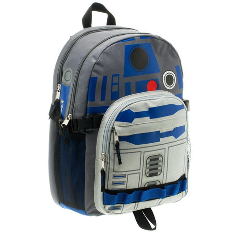 Image of Star Wars R2D2 Backpack Star Wars Accessory Star Wars Bag - right