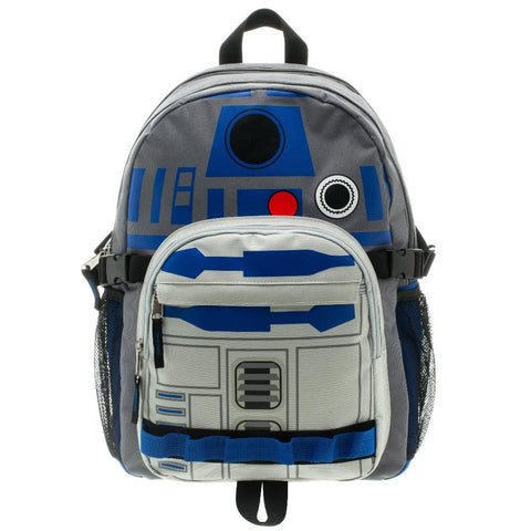 Star Wars R2D2 Backpack Star Wars Accessory Star Wars Bag - front
