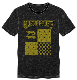 Harry Potter Hufflepuff Element of Earth Men's Black T-Shirt
