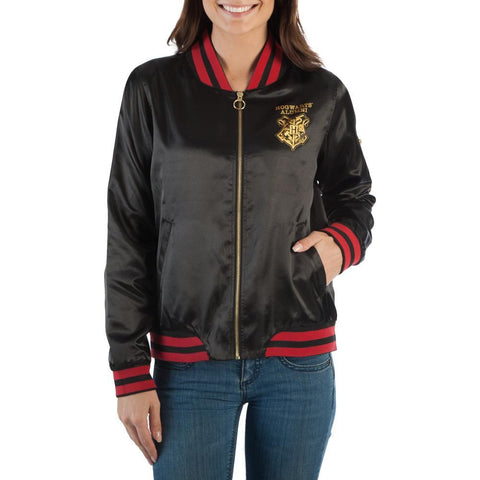 Image of Harry Potter Hogwarts Bomber - Front