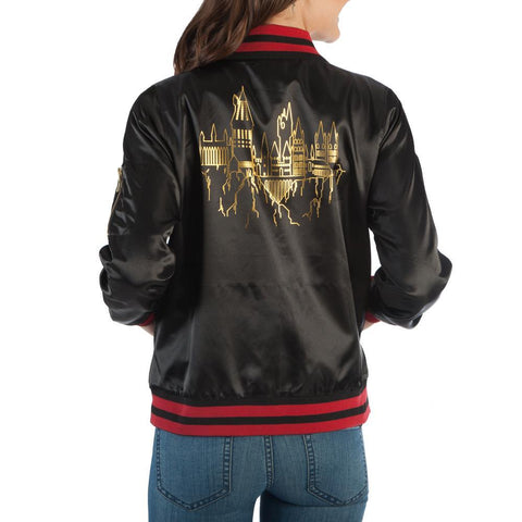 Image of Harry Potter Hogwarts Bomber - Back