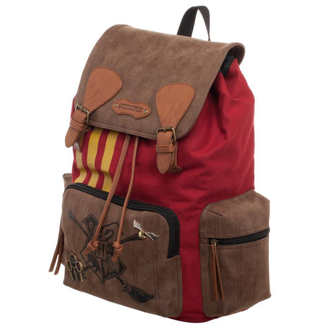 Harry Potter Quidditch Bag  Rucksack w/ Convenient Side Pockets - left