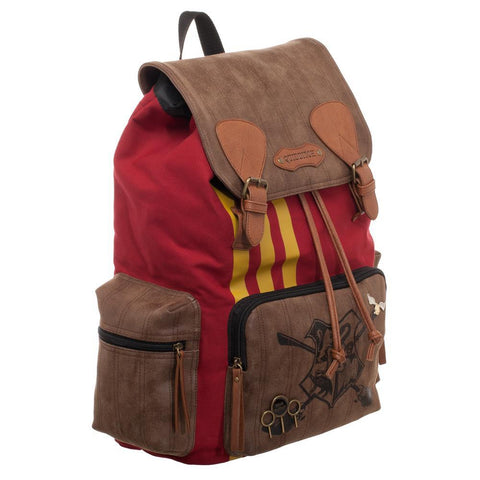Image of Harry Potter Quidditch Bag  Rucksack w/ Convenient Side Pockets - right