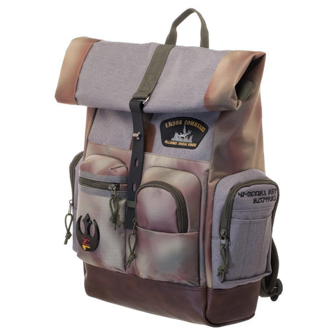 Image of Star Wars Rebel Endor Camo Rucksack/Backpacks - left