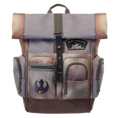 Star Wars Rebel Endor Camo Rucksack/Backpacks - front