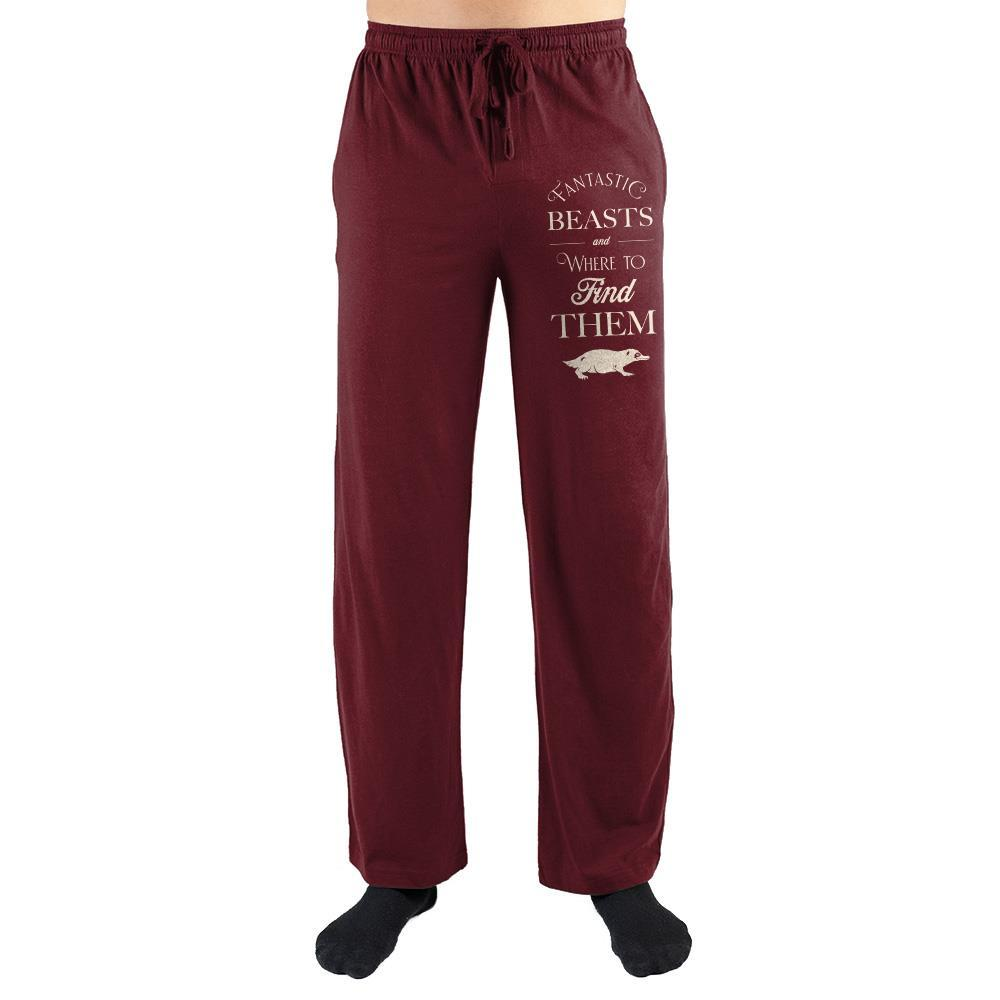 Fantastic Beasts Apparel Clothing Harry Potter Sleep Pants