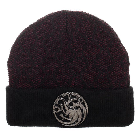 Image of Game Of Thrones Cable Weave Cuffed Beanie