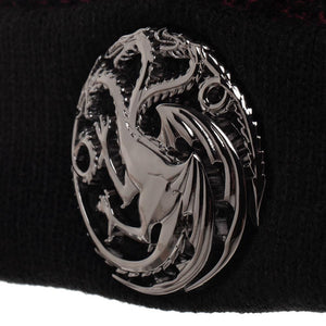 Game Of Thrones Cable Weave Cuffed Beanie