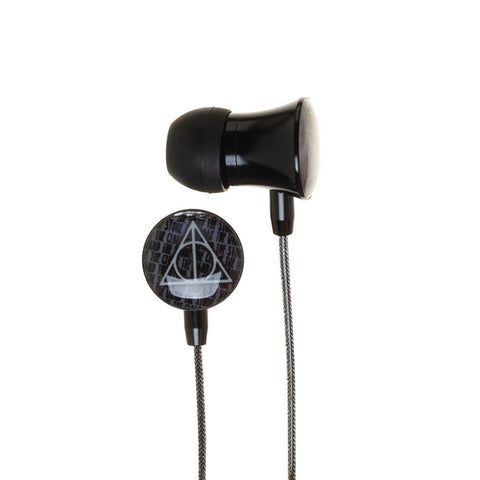 Image of Harry Potter Ear Buds Deathly Hallows Headphones Accessories