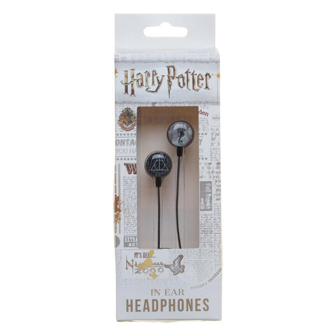 Harry Potter Ear Buds Deathly Hallows Headphones Accessories