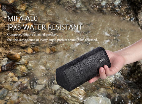 Waterproof Bluetooth Stereo Music Speakers 2