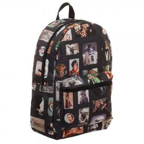 Image of Star Wars Photo Album Sublimated Backpack - right