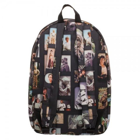 Image of Star Wars Photo Album Sublimated Backpack - back