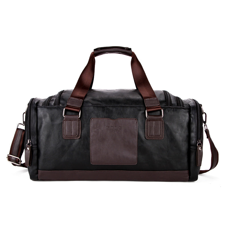 Vicuna Polo Large Black Duffel Bag