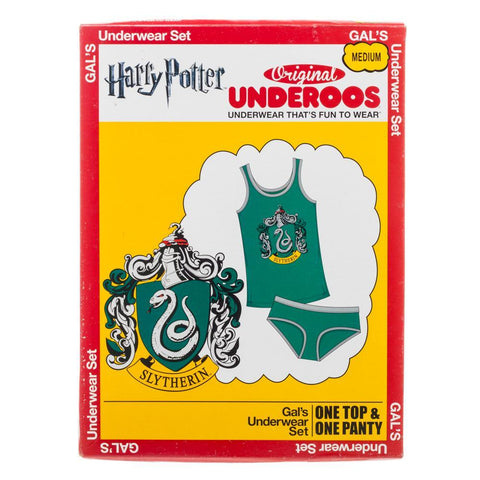 Harry Potter Slytherin Underoos - book