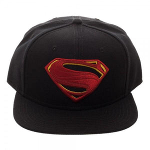 Superman Embroidered Logo Snapback/Cap
