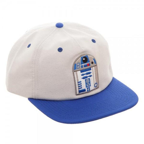 Image of Star Wars R2D2 Oxford Snapback - right